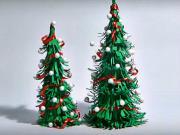 Vánoční stromek z papíru - jak si vyrobit papírový vánoční stromek
