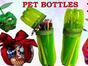 Recyklace plastových lahví - 10 nápadů jak využít plastové lahve