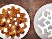Sladké sněhové vločky z tortilly - recept