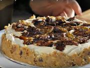 Koláč s pekanovými ořechy - recept