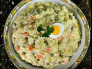 Domácí majonézový salát - recept