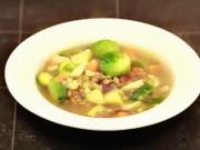 Zeleninová polievka - recept na hutnú zeleninovom polievku