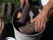 Výroba dřevěného uhlí - jak vyrobit dřevěné uhlí