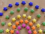 Hvězdy z papíru - papírové hvězdy