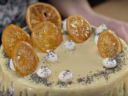 Makový dort bez mouky - recept