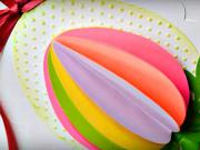 Velikonoční dekorace z papíru