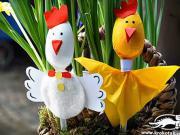 Velikonoční ozdoby pro děti - nápady na velikonoční dekorace
