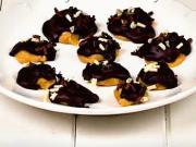 Čokoládové pusinky s arašídovým máslem - recept