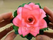 Růže z papíru - jak si vyrobit papírovou růži
