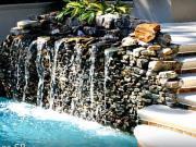 Zahradní vodopády a fontány - 40 zajímavých nápadů