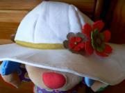Letní klobouk na zahradu - snadné šití