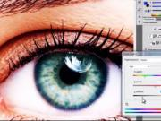 Jak změnit barvu očí ve Photoshopu