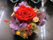 Jak na to - aranžmá z preparované růže