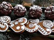 Nepečené vánoční šišky - recept
