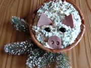 Dietní vánoční salát - recept