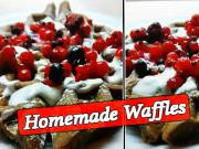 Domácí Waffle - recept