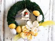 Videonávod na velikonoční věnec - tutorial DIY