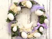 Návod na velikonoční věnec se slepičkou