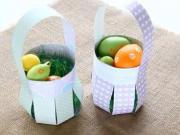 DIY - jak vyrobit košík z papíru