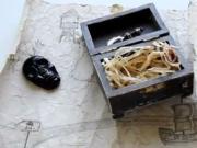 Jak vyrobit mapu a truhlu s pokladem