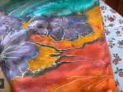 Jak prát a žehlit hedvábné šátky
