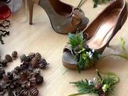 Doplňky na ples: Náramek, boty a kabelka