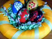 Velikonoční šupinkové kraslice