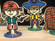 Kreativní sada na výrobu pirátů