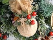 4 návody na vánoční ozdoby z jutoviny