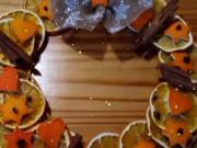 Věneček z pomeranče