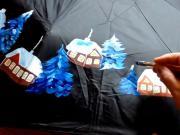Malovanej deštník