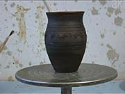 Glazurování - Výroba hliněného pohárku část 2.