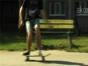 Frontside ollie 180 - Škola skateboardingu-lekce 2.trick frontside ollie 180