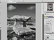 Vytvoření černobílé fotografie - Photoshop