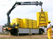 Doprava materiálu - Stavíme dům s YTONG