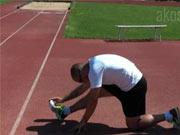 Statický strečing při běhu - Statický strečing  po tréninku