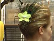 Ozdoba do vlasů - ak si vyrobit vlasovou ozdobu z květů