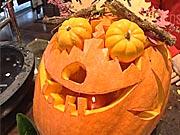 Halloweenská dýně 2 - vyřezávání dýně