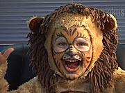 Lev - jak si připravit masku lva