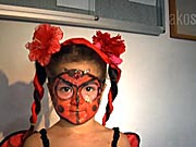 Beruška  - jak si připravit masku berušky