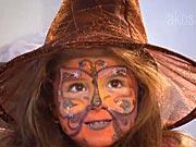Mala čarodějnice a víla netopýrů  - jak si připravit masku