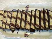 Metrový koláč -   recept na dvoubarevný vanilkovo-čokoládový koláč s rumem