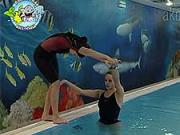Skákání šipky do vody - Plavání dětí - nácvik skákání šipky